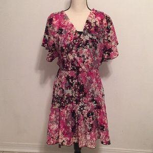 ELLE Floral Print Dress